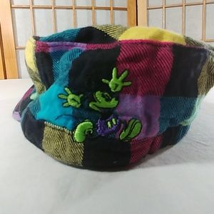 Disney Plaid Hat